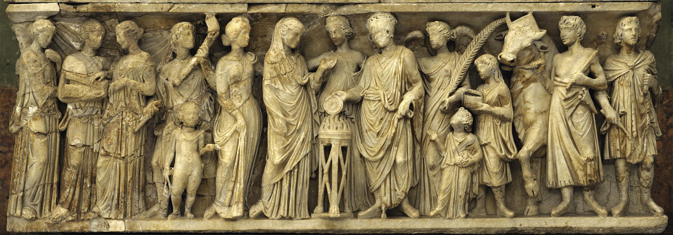 Roman Wedding Frieze